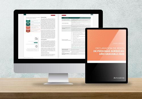 Cartilla Práctica: declaración de renta de personas jurídicas, año gravable 2020