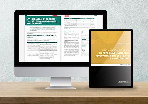 Cartilla Práctica: Declaración de renta de personas naturales, novedades, procedimiento y liquidadores