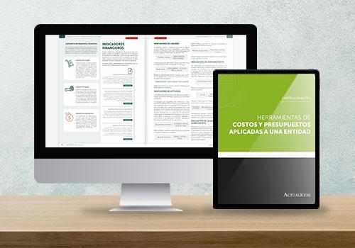 Cartilla Práctica: Herramientas de costos y presupuestos aplicadas a una entidad