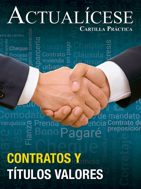 [Cartilla Práctica] Contratos y títulos valores