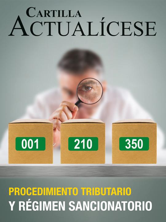 [Cartilla Práctica] Procedimiento tributario y régimen sancionatorio
