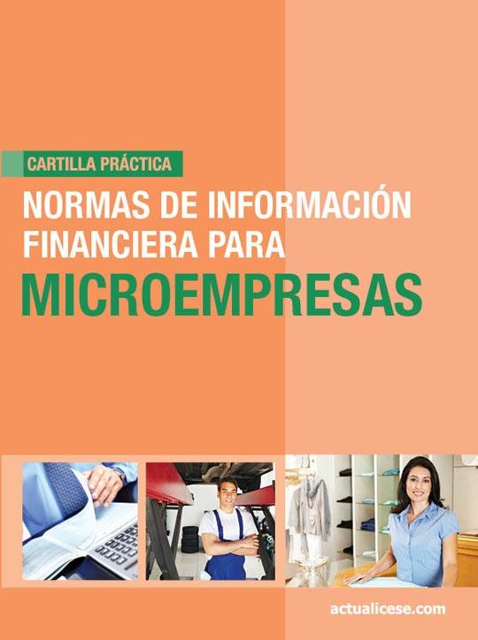 [Cartilla Práctica] Normas de Información Financiera para Microempresas