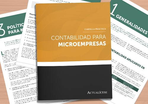 Contabilidad para microempresas ¡ya puede acceder a nuestra nueva cartilla práctica!