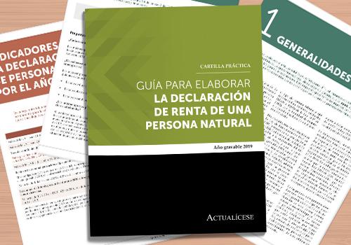 Guía para elaborar la declaración de renta de una persona natural – año gravable 2019