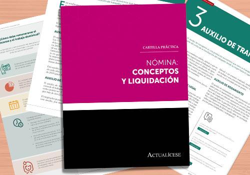Nómina: conceptos y liquidación
