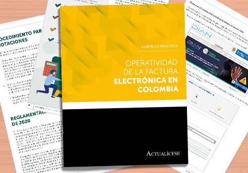 Operatividad de la factura electrónica en Colombia