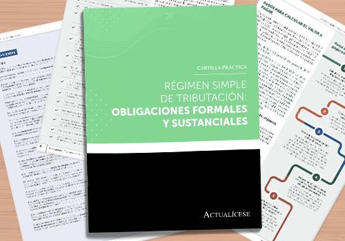 Régimen simple de tributación: obligaciones formales y sustanciales