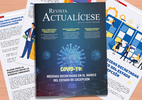 COVID-19: medidas decretadas en el marco del estado de excepción