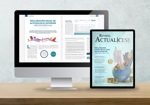 Revista Actualícese edición 114: Declaración anual de activos en el exterior, año gravable 2021