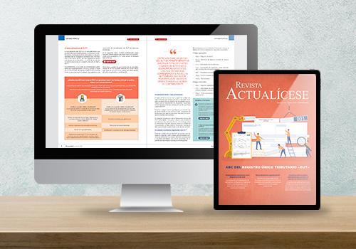 Revista Actualícese edición 118: ABC del registro único tributario –RUT–