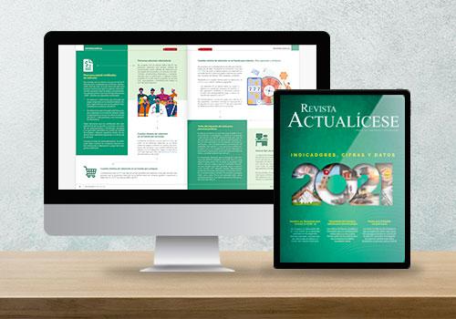 Revista Actualícese edición 111: indicadores, cifras y datos 2021