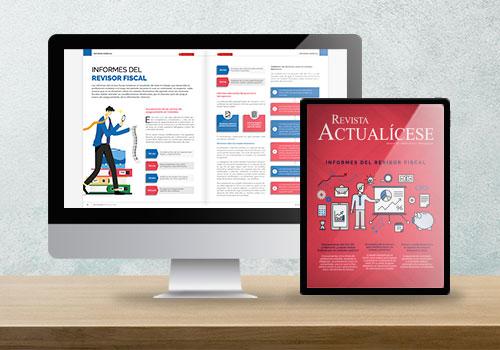 Revista Actualícese edición 112: Informes del revisor fiscal