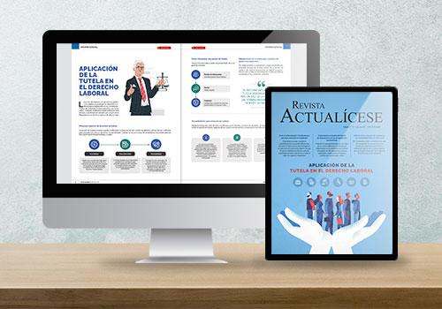 Revista Actualícese edición 117: aplicación de la tutela en el derecho laboral