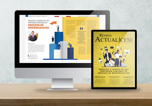 Revista Actualícese edición 113: Desafíos y logros de una profesión contable en proceso de modernización