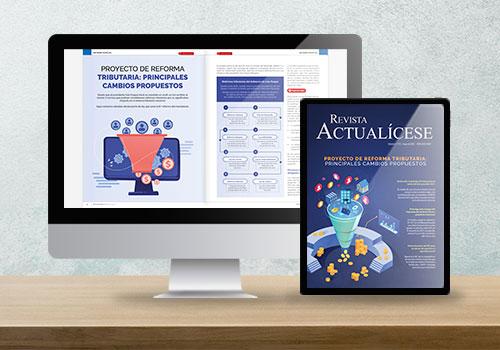 Revista Actualícese edición 115: Proyecto de reforma tributaria, principales cambios propuestos