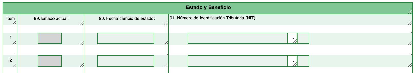Códigos especiales en el RUT para sociedades con beneficios por Zomac, Zese o régimen CHC