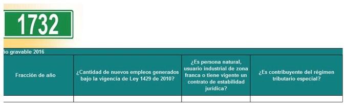 Formato 1732 del año gravable 2016: aún no existe fecha para que lo presenten algunos contribuyentes