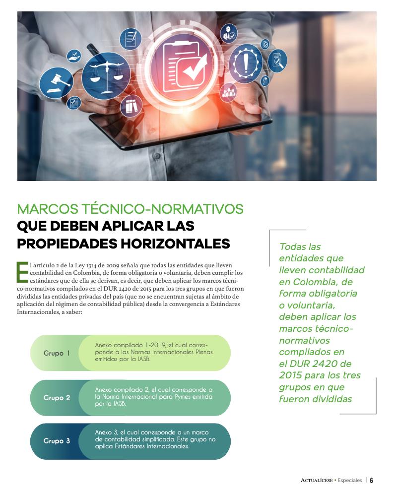 Propiedades horizontales: marcos técnicos normativos aplicables