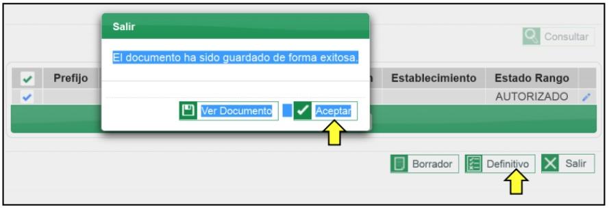 Proceso para solicitar la habilitación de rangos de numeración de facturas electrónicas