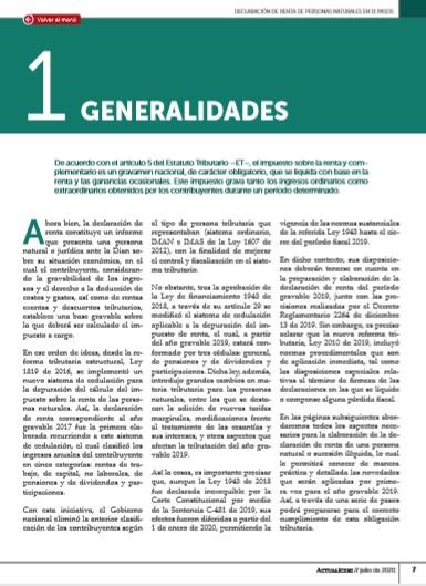 Declaración de renta personas naturales, AG 2019: prepárese para iniciar
