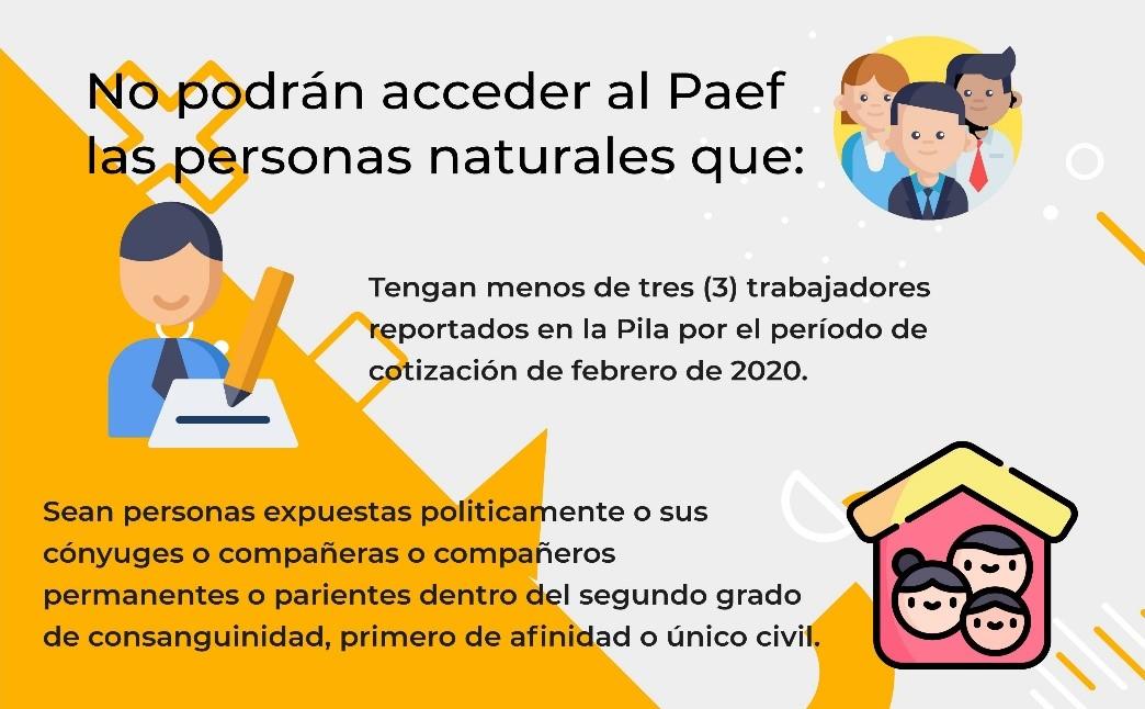 Procedimiento de postulación al Programa de Apoyo al Empleo Formal –Paef–