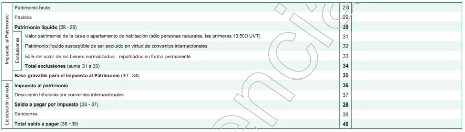 Formularios 420 y 445 de impuesto al patrimonio y normalización 2019 fueron prescritos por la Dian
