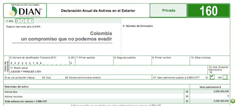 Declaración de activos en el exterior: ¿deben reportarse los activos y sus respectivas provisiones?