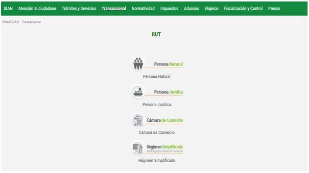 Inscripción en el RUT para personas naturales que declaran renta por primera vez