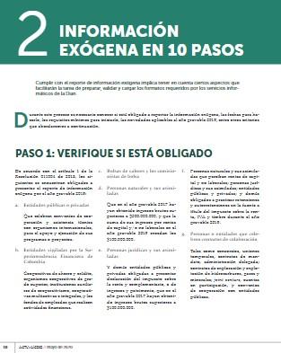 Reporte de exógena –AG 2019–: generalidades a tener en cuenta para su preparación