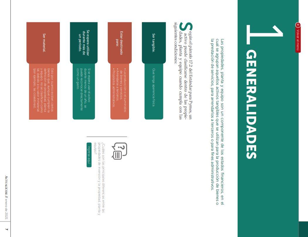 Condiciones para clasificar un activo como propiedad, planta y equipo