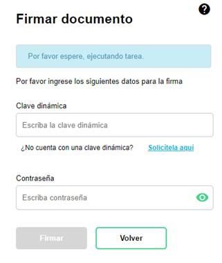 firma electrónica en la solicitud de autorización de rangos