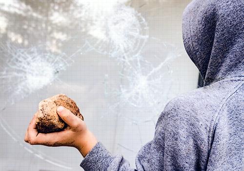 Hogares y comerciantes, existen seguros para blindarse contra el vandalismo