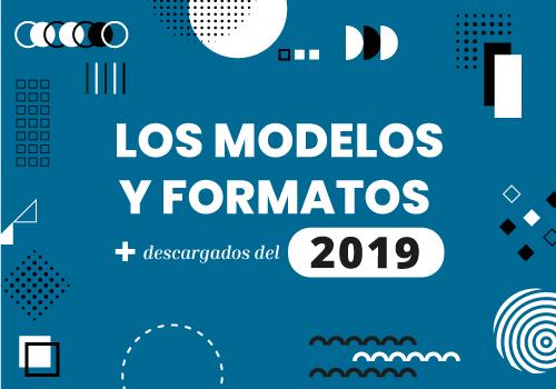 Los modelos y formatos más descargados de 2019