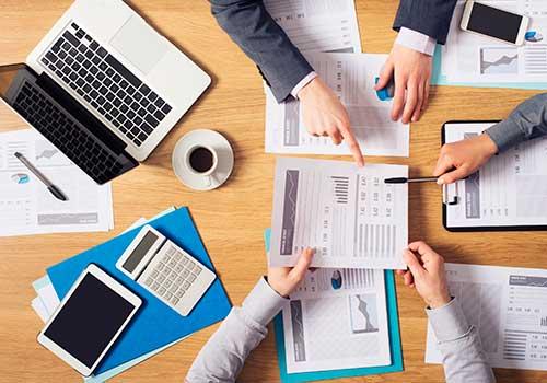 Capital de trabajo neto como evaluación de activos y pasivos corrientes