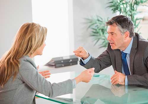 Denuncias entre compañeros no es causal de despido