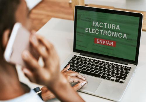 Facturación electrónica cuenta con una zona especial en el portal de la Dian