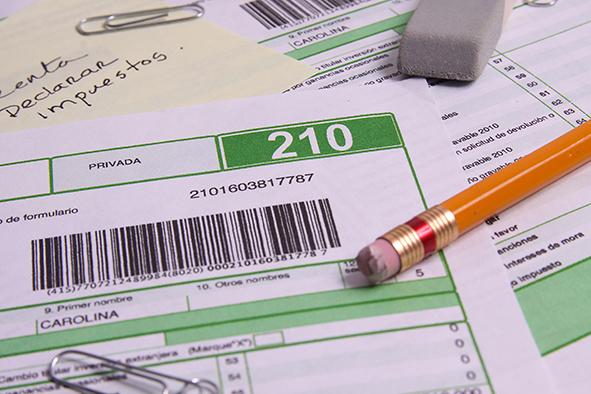 Formulario 210 contiene instrucciones detalladas de beneficios que puede aplicar el contribuyente
