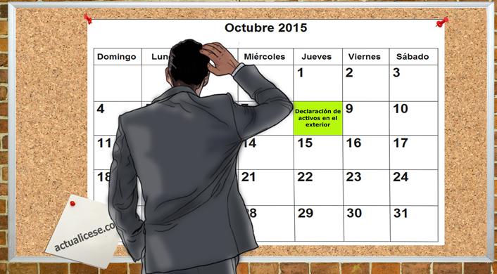 Declaración de activos en el exterior: el 8 de octubre inician vencimientos