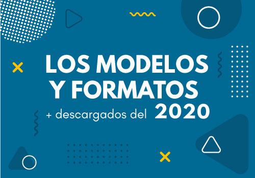 Los modelos y formatos más descargados de 2020