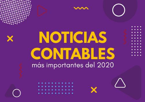 Noticias contables más importantes de 2020
