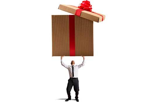 Manejo contable de los inventarios retirados para regalar a empleados