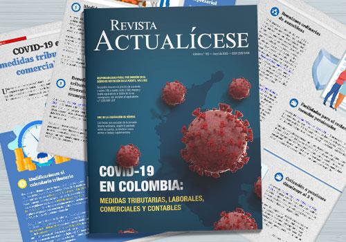 COVID-19 en Colombia: medidas tributarias, laborales, comerciales y contables