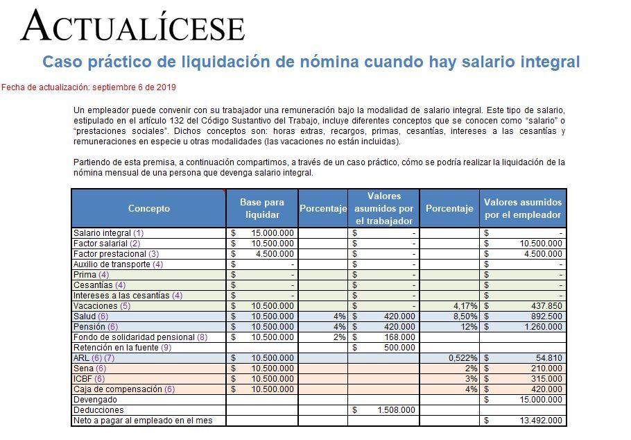 Fondo de solidaridad liquidacion