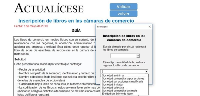 [Guía] Inscripción de libros en las cámaras de comercio