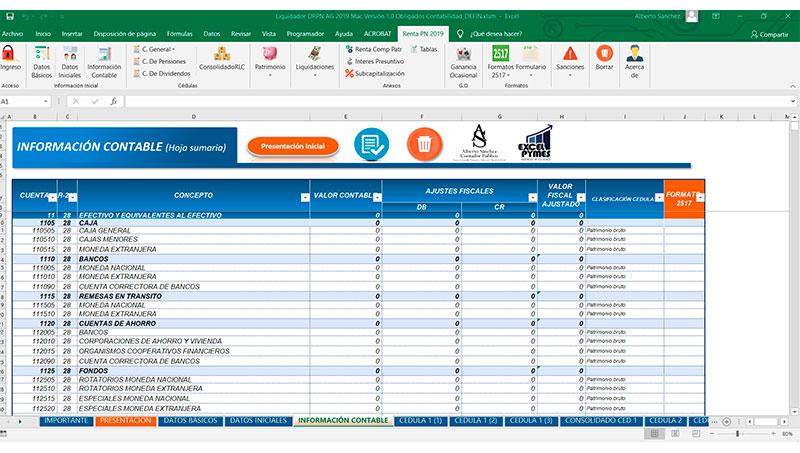 Información contable