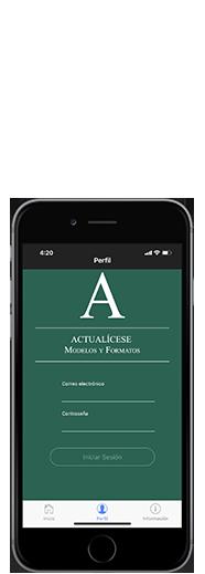 App Actualicese Contabilidad e impuestos