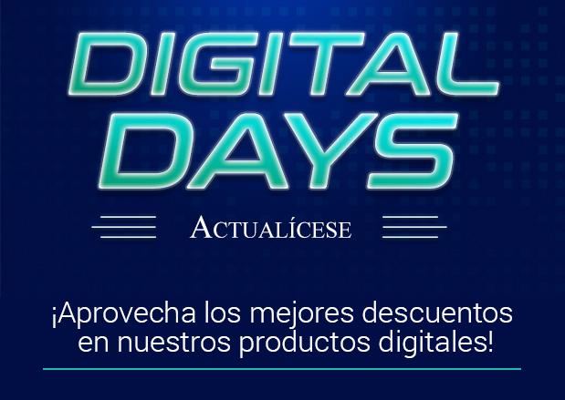 Digital Days 2017 Promociones Actualícese
