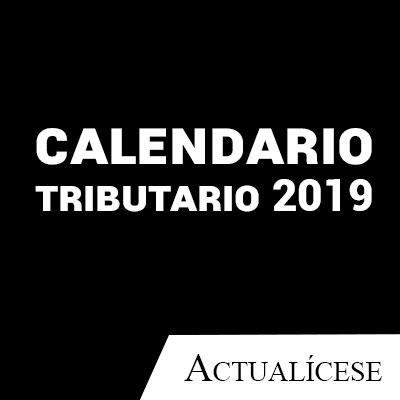 Calendario Fiscal 2019 Honduras.Calendario Tributario 2019