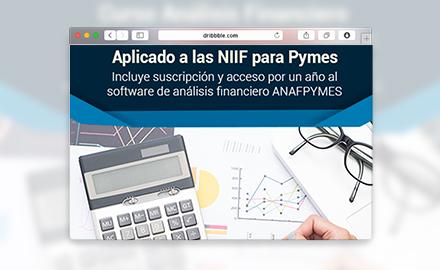 Curso en línea Análisis Financiero + Software financiero Aplicado a las NIIF para Pymes - Escuela de Finanzas y Negocios