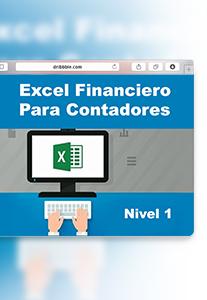 Virtual - Excel Financiero para Contadores Nivel 1 - Escuela de Finanzas y Negocios